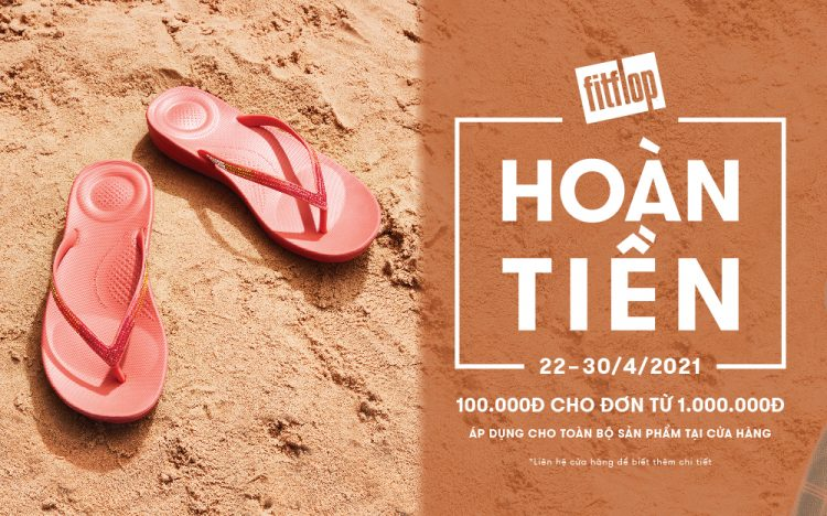 MỪNG 30/4 – FITFLOP TẶNG NGAY 100K