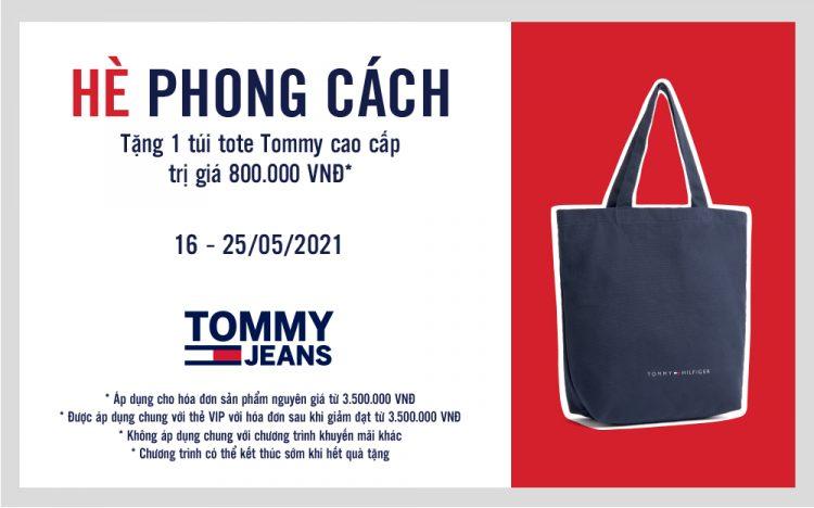 TOMMY JEANS – HÈ PHONG CÁCH