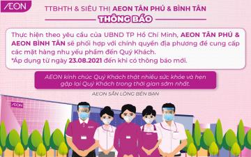 [TP.HCM] AEON CHUNG SỨC CUNG CẤP NHU YẾU PHẨM